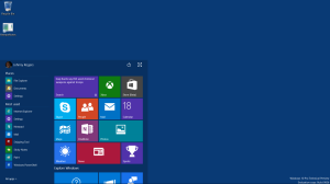 Start Menu Windows 10 Screenshots